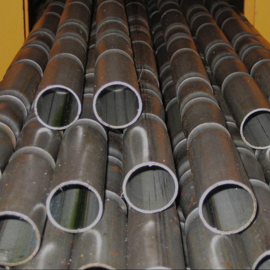 Tubo de hierro ornamental