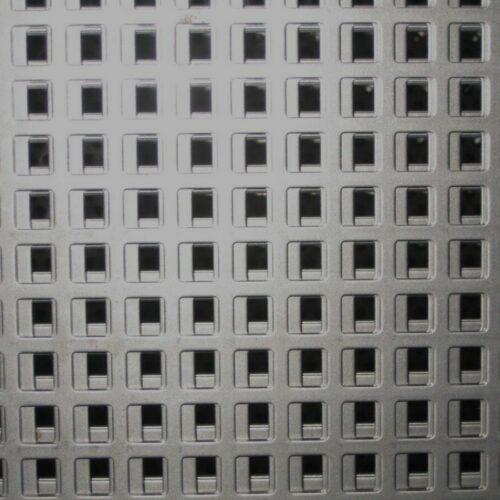 Chapa perforada