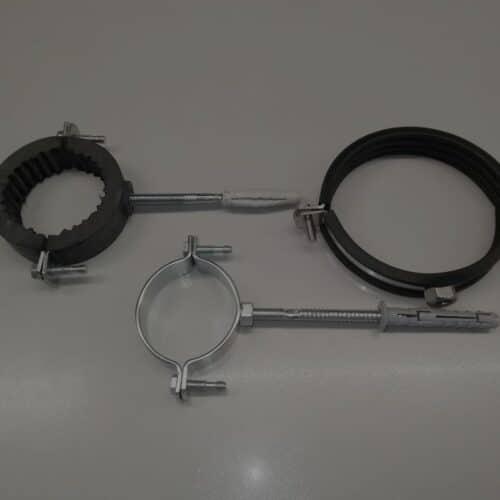Abrazaderas metalicas ferros guma